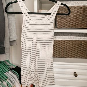 a new day striped tank